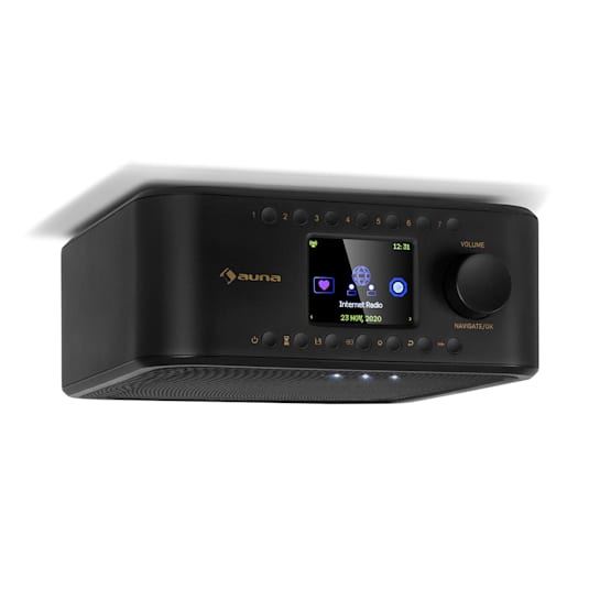 Sound Maître Küchenradio Unterbau Internet/DAB+/UKW BT AUX