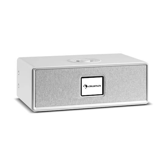 Simpfy Wireless Lautsprecher DAB+/FM BT LCD-Display Holzgehäuse
