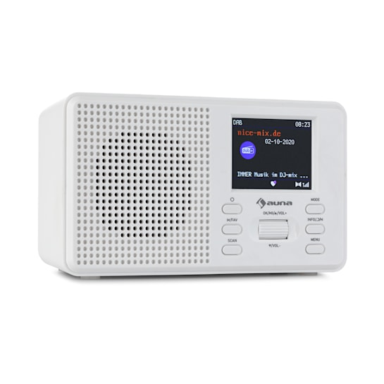 "Commuter DAB+/FM Radio AUX 2.4"" TFT-Display"