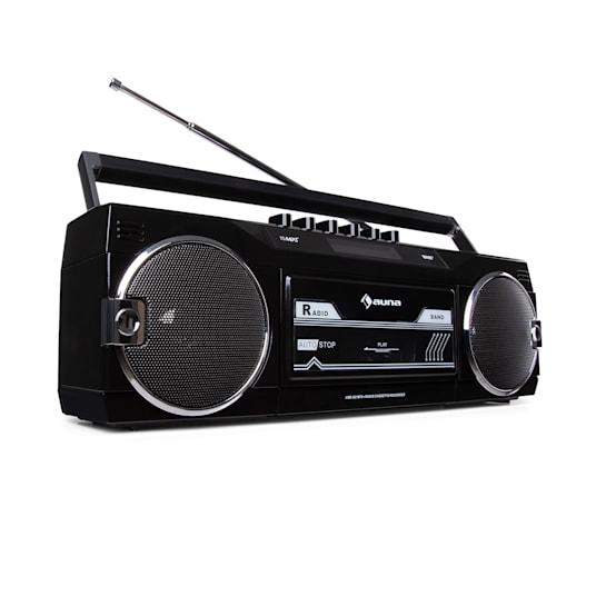 Duke DAB Kassettenrekorder Radio DAB+/FM BT USB SD Teleskopantenne