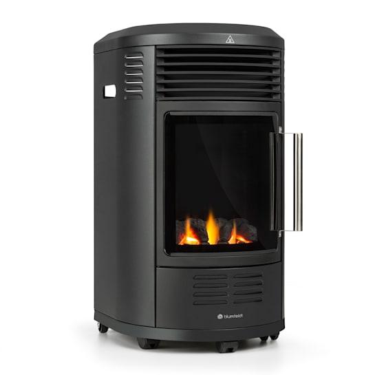 Andora Deluxe, plinski kamin, plinska grijalica, efekt plamena, do 3,4 kW