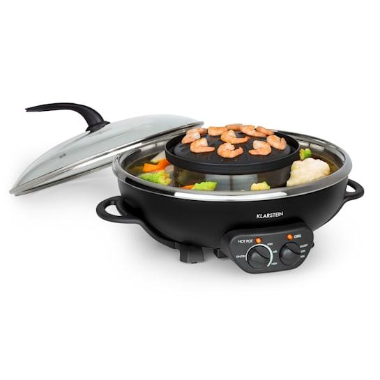 Szechuan 2-in-1 Hot Pot & elektrische grill