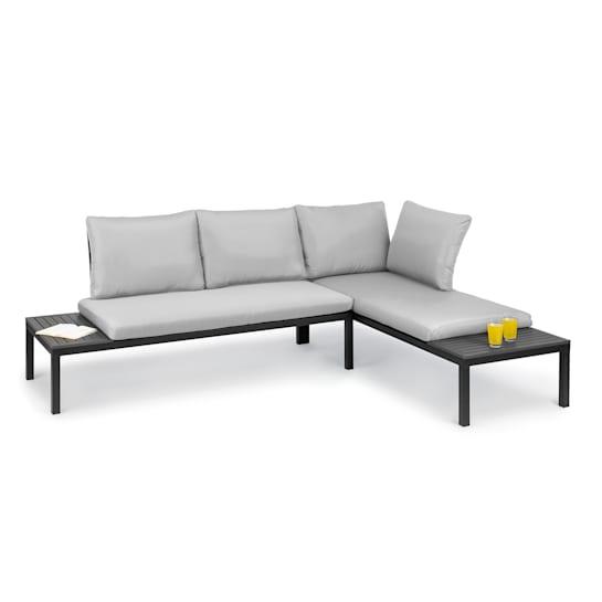 Cartagena Lounger 2 Zweisitzer mit Tisch Stahl Polyester