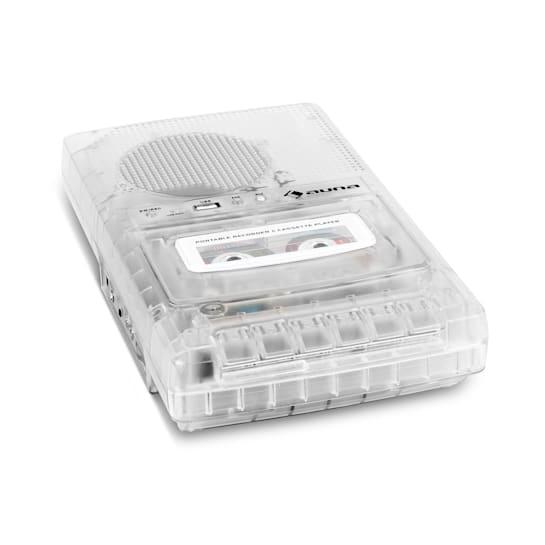 ClearTech Kassettenrekorder Diktiergerät USB MP3 mobil