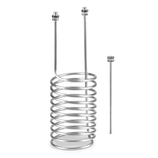 "Gärkeller Pro XL Eintauchkühler 1/2"" Sensorstab 304-Edelstahl"