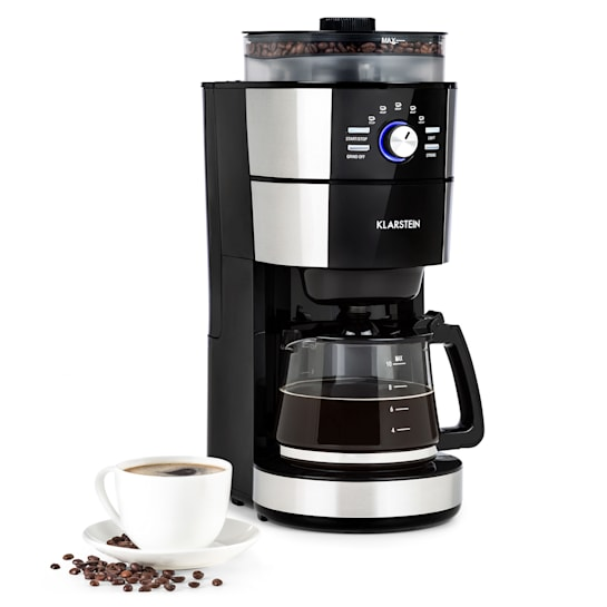 Grind & Brew, kávéfőző, 900 - 1000 W, 10 csésze, 1-literes tartály, daráló