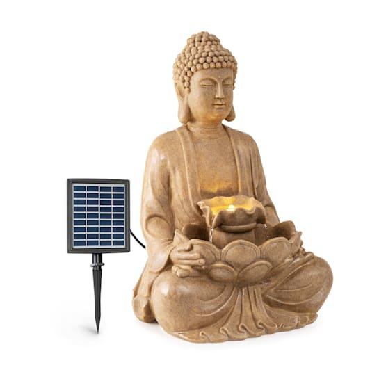Dharma, fontanna solarna LED, 48 x 72 x 41 cm (szer. x wys. x gł.), tworzywo Polyresin