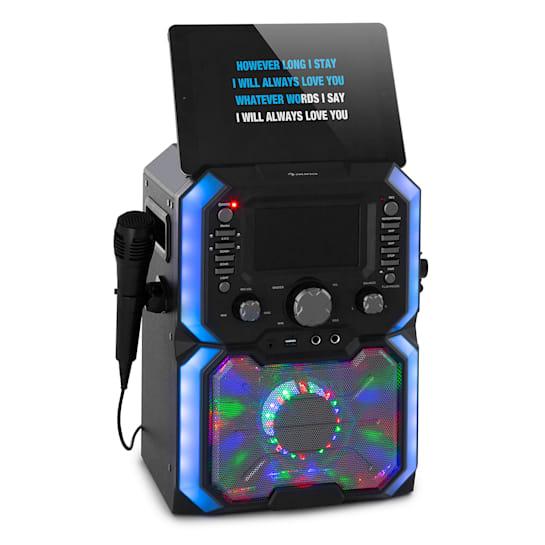 Rockstar Plus Karaoke-Anlage Karaokemaschine Bluetooth USP CD LED-Show RCA