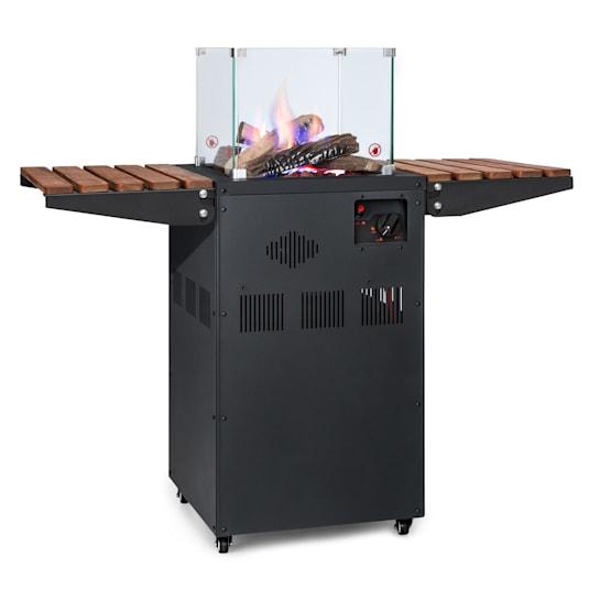 Flagranti Plus, plinski grijač, 8 kW, pomoćni stolovi, nehrđajući čelik