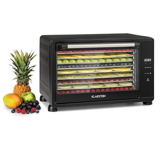 Mega Jerky, sušička potravin, 650 W, 50-80 °C, dotykový LCD displej, časovač