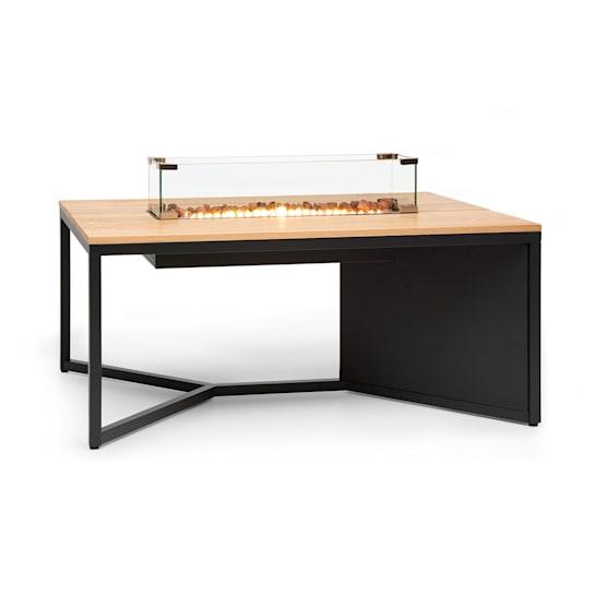 Tofino, plinski grijač, sa stolom, metalom, hrastovim drvetom, stijenama lave, 7 kW