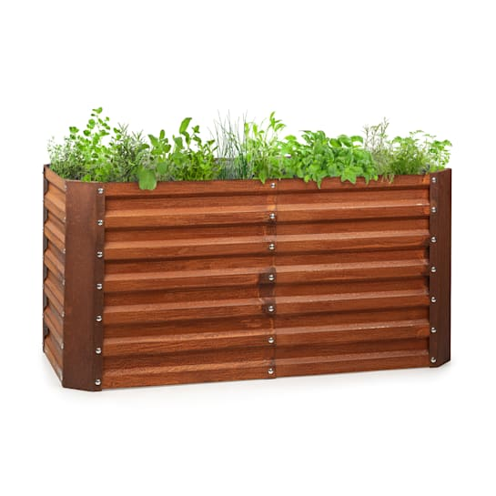Rust Grow Raised Bed