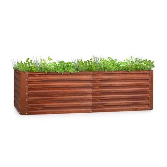 Rust Grow Raised Garden Bed
