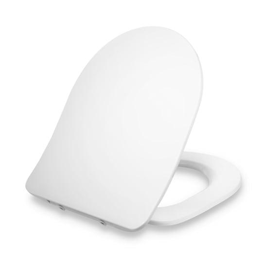 Aliano, Tavoletta per WC, Forma a D, Abbassamento Automatico, Antibatterica
