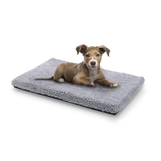 Luna, Lettino per Cani, Materassino per Cani | Lavabile | Ortopedico | Antiscivolo | Traspirante | Memory Foam | Taglia S (60x5x40 cm)