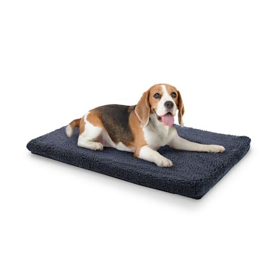 Luna Hundebett Hundematte | waschbar | orthopädisch | rutschfest | atmungsaktiv | Memory-Schaum | Größe M (80 x 5 x 55 cm)
