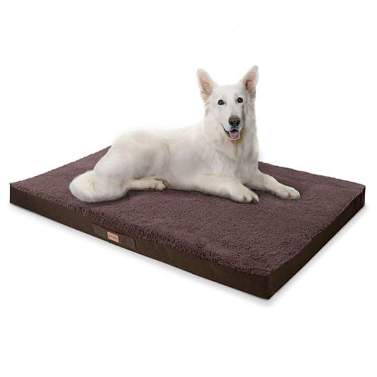 Balu, pelíšek pro psa, polštář pro psa, možnost praní, ortopedický, protiskluzový, prodyšná paměťová pěna, velikost XXL (140 x 10 x 100 cm)
