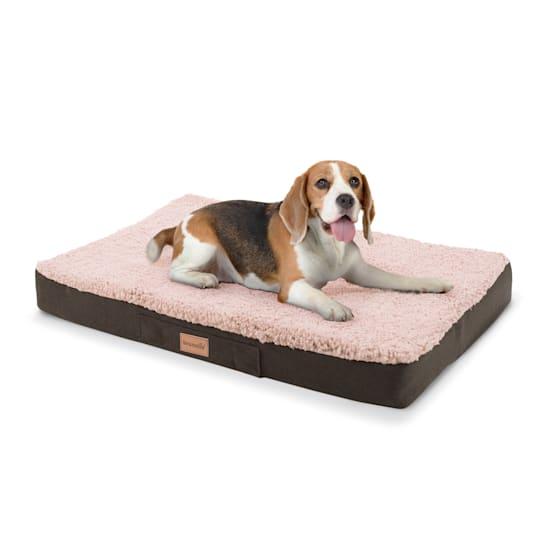 Balu Hundebett Hundekissen | waschbar | orthopädisch | rutschfest | atmungsaktiver Memory-Schaum | Größe M (79 x 8 x 60 cm)