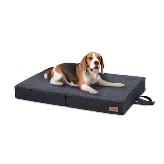 Lettino per Cani, Materassino per Cani   Lavabile   Ortopedico   Antiscivolo   Traspirante   Memory Foam Pieghevole   Taglia M (80x8x55 cm)
