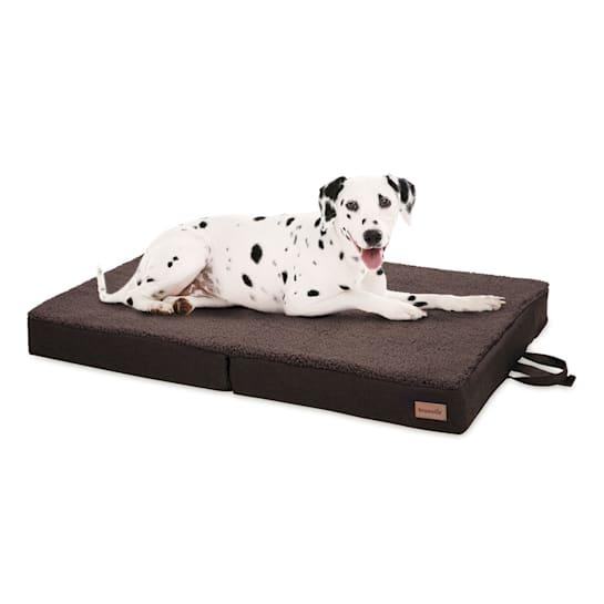 Hundebett Hundematte   waschbar   orthopädisch   rutschfest   atmungsaktiv   klappbar Memory-Schaum   Größe L (100 x 10 x 70 cm)