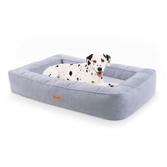 Bruno lit pour chien panier pour chien lavable orthopédique antidérapant respirant mousse à mémoire de forme taille L (100 x 17 x 70 cm)