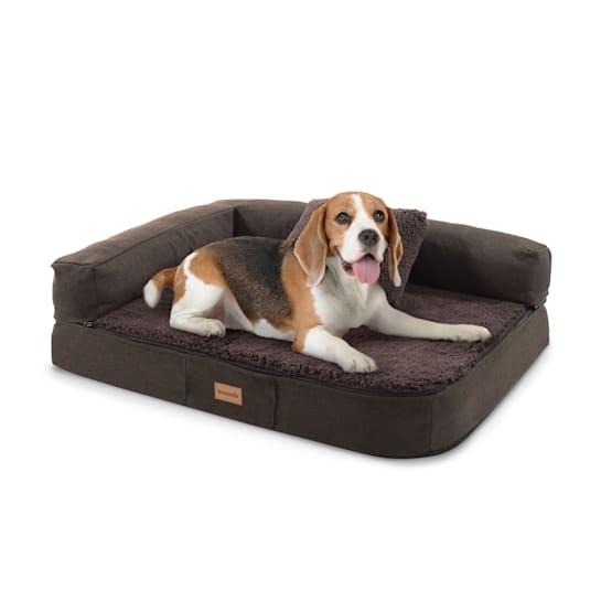Odin Hundebett Hundematte | waschbar | orthopädisch | rutschfest | atmungsaktiv | Memory-Schaum | Größe S (80 x 10 x 60 cm)