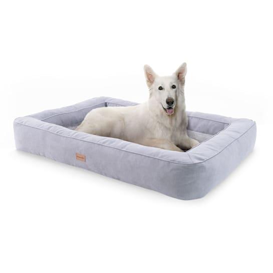 Bruno, Lettino per Cani, Materassino per Cani | Lavabile | Ortopedico | Antiscivolo | Traspirante | Memory Foam | Taglia XL (120x17x85 cm)