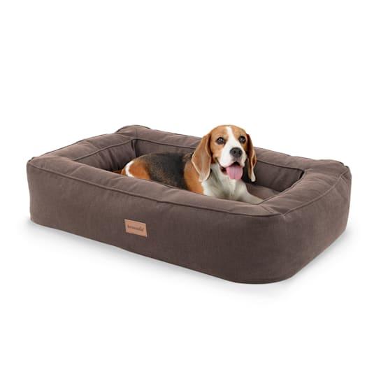 Bruno, Lettino per Cani, Materassino per Cani | Lavabile | Ortopedico | Antiscivolo | Traspirante | Memory Foam | Taglia M (80x17x55 cm)