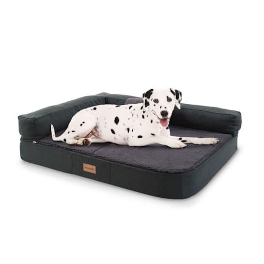 Odin, Lettino per Cani, Materassino per Cani   Lavabile   Ortopedico   Antiscivolo   Traspirante   Memory Foam   Taglia M (100x12x80 cm)