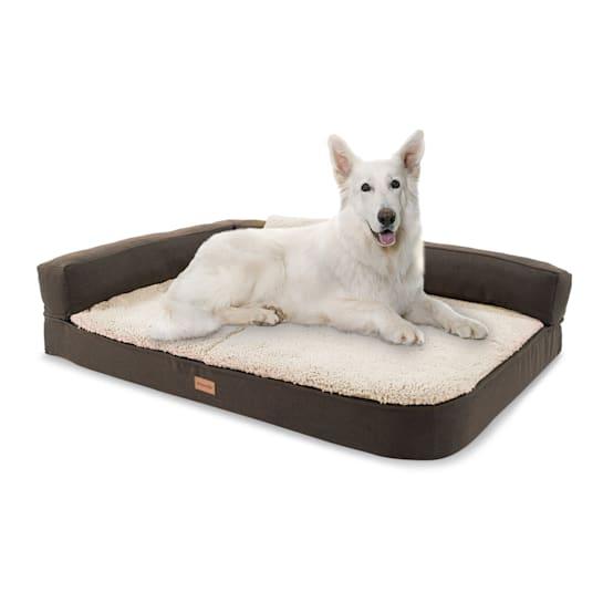 Odin, Lettino per Cani, Materassino per Cani   Lavabile   Ortopedico   Antiscivolo   Traspirante   Memory Foam   Taglia L (120x12x80 cm)