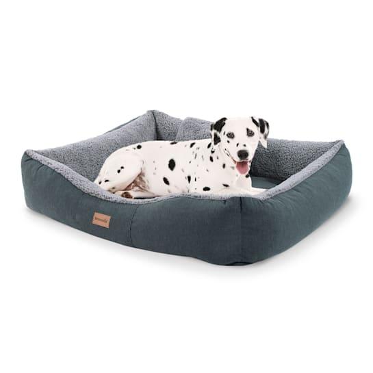 Emma lit pour chien panier lavable antidérapant respirant matelas réversible coussin Taille M (80 x 20 x 70 cm)