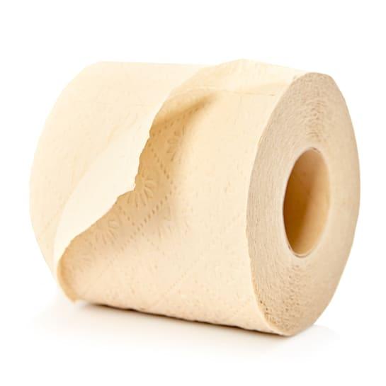 Toilettenpapier 8 Rollen 200 Blatt dreilagig 100 % Bambus chemiefrei