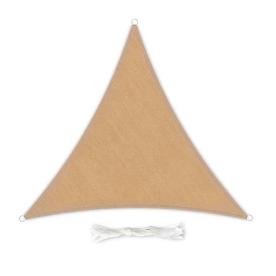 Vela parasole triangolare 4 x 4 x 4 m