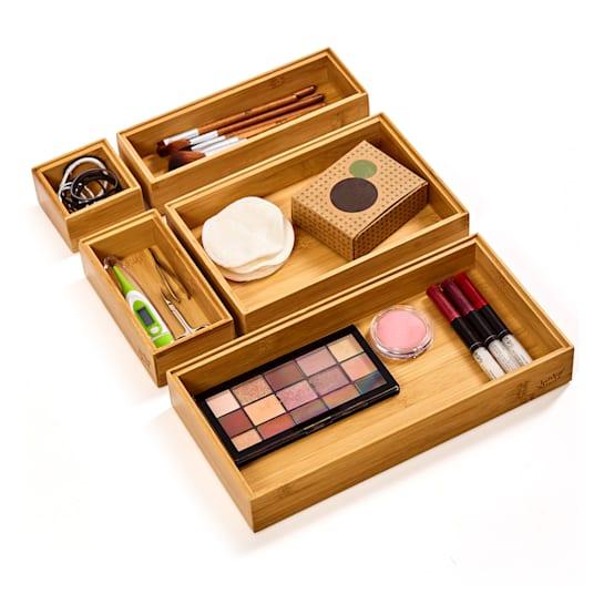 5-piece drawer organisation system