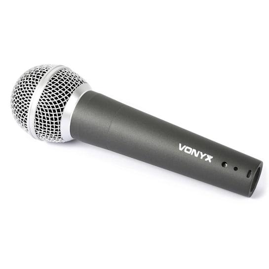 Microfono dinamico con 5 metri di cavo XLR