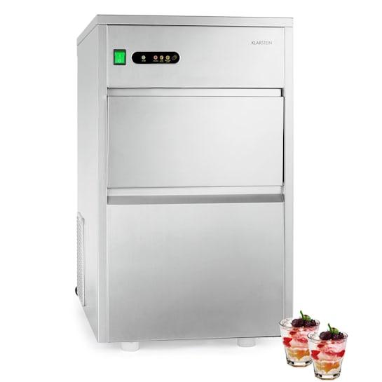 Jääpalakone 240W 25kg/päivä ruostumatonta terästä