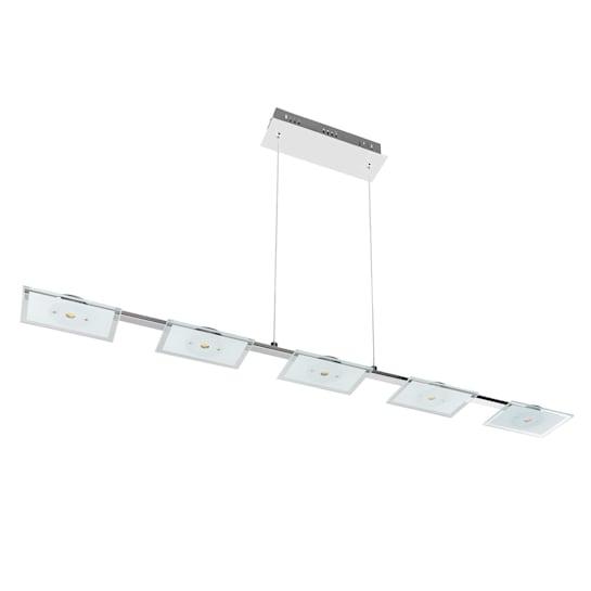 Vegard 5 Taklampa LED 5x5W 400 lm Krom Glas