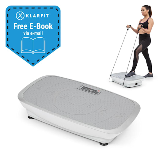 Vib 1000 Vibration Plate 5 Modes Adjustable Duration & Intensity Silver