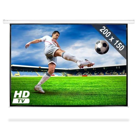 "PSAC-100 Beamer Leinwand 100"" 200x150 cm Heimkino Projektor HDTV"