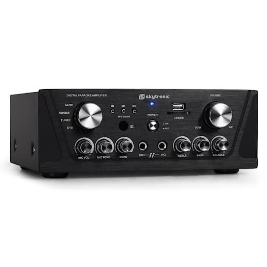 103.134 Compact Hi-Fi PA Karaoke Amplifier MP3 USB SD 400W