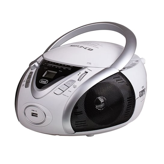 CMP-542 Ghettoblaster Weiß USB CD MP3