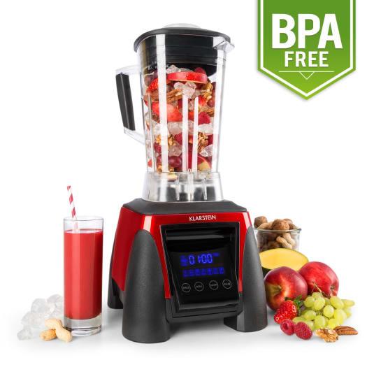 Херакъл-8G-R, 1800 W, 2 литра, червен,миксер, Smothee, без BPA