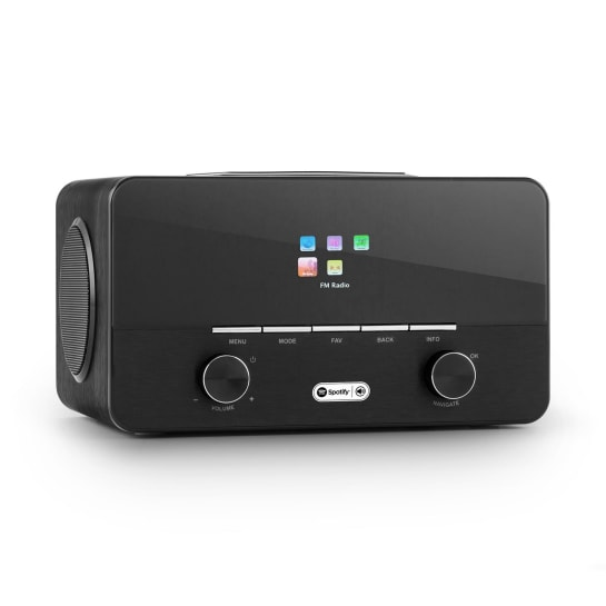 Connect 150 BK 2.1 Internet Radio Lettore USB WLAN DAB + FM