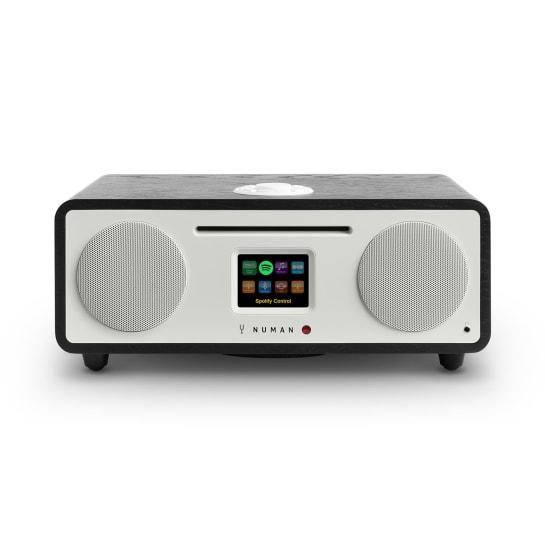 Two - 2.1 Internet-Radio CD 30W USB Bluetooth Spotify Connect DAB+ schwarz