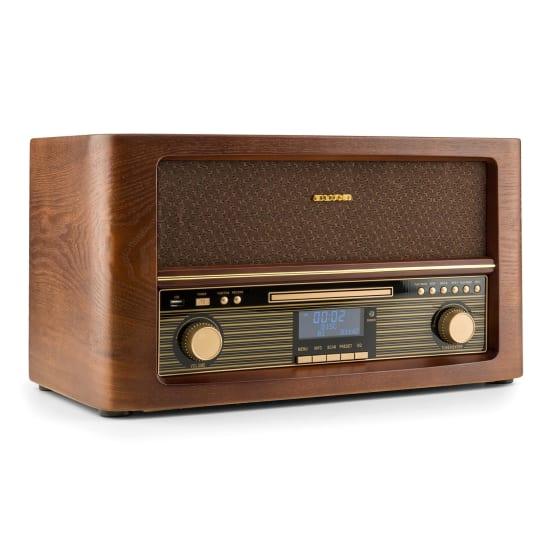 Belle Epoque 1906 DAB Impianto Stereo Retrò Bluetooth CD USB MP3 VHF/MW