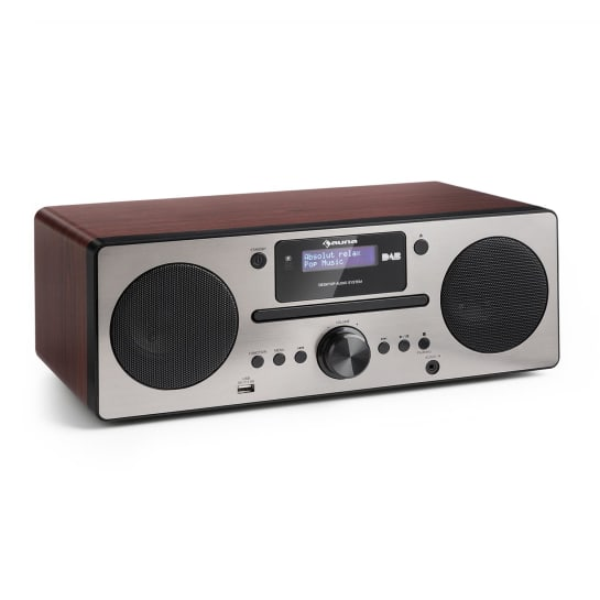 Harvard Micro-Anlage DAB+ UKW-Tuner CD-Player USB-Charger