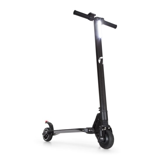 Sc8ter Carbon Elektro-Scooter Easy-Fold-Funktion 250W bis 22 km/h schwarz