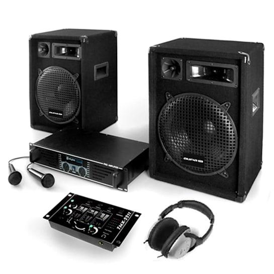 Bass Boomer Set Audio DJ completo 800W