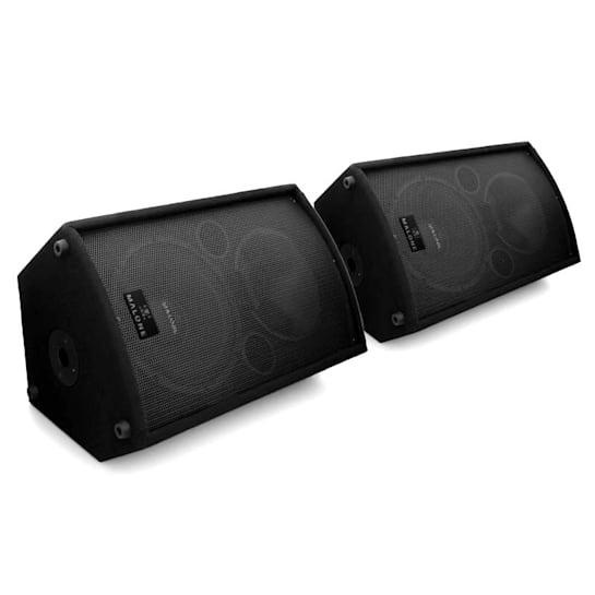 PW-MON-12A Paar aktiver Monitor-Lautsprecher 30cm 1100Wmax.