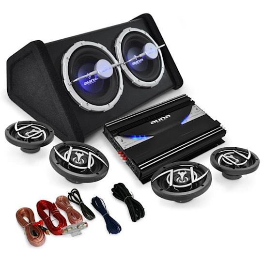 Black Line 520 Car-HiFi-Set 4.1-System